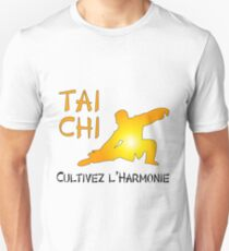 Tai Chi - Cultivez l'Harmonie Unisex T-Shirt