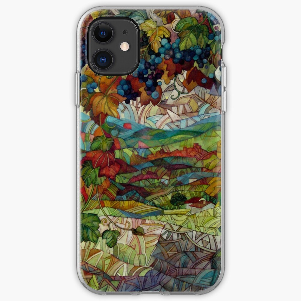 the vineyard iPhone Soft Case