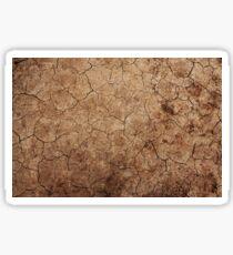 Cracked Dirt Pattern Sticker