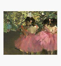 Edgar Degas - Dancers In Pink Photographic Print