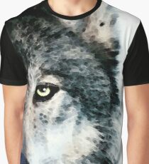 Wolf Art - Timber Graphic T-Shirt