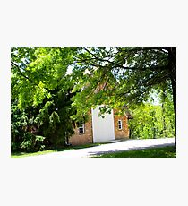LOVLY BRICK BARN Photographic Print