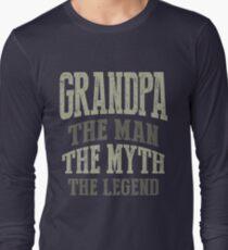 Opa. Der Mann. Der Mythos. Die Legende Langarmshirt