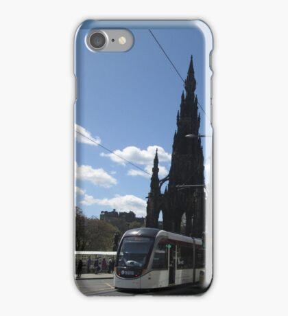 Edinburgh Tram 2016 iPhone Case/Skin