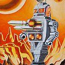 MISSLE ROBOT by ward-art-studio