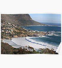 Beautiful Cape Town view Poster