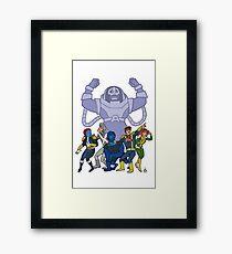Scooby X Framed Print