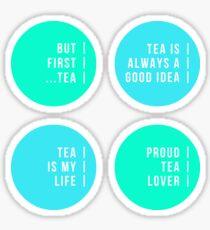 Tea - Set One! Sticker