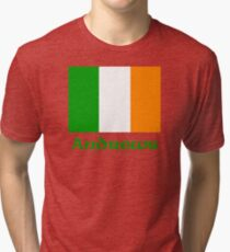 Andrews Irish Flag Tri-blend T-Shirt