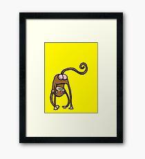 Monkabum Framed Print