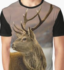 Autumnal Stag Graphic T-Shirt