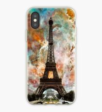 The Eiffel Tower - Paris France Art By Sharon Cummings iPhone Case