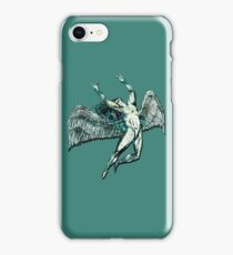 ICARUS THROWS THE HORNS - lightning bolts ***FAV ICARUS GONE? SEE BELOW*** iPhone Case/Skin