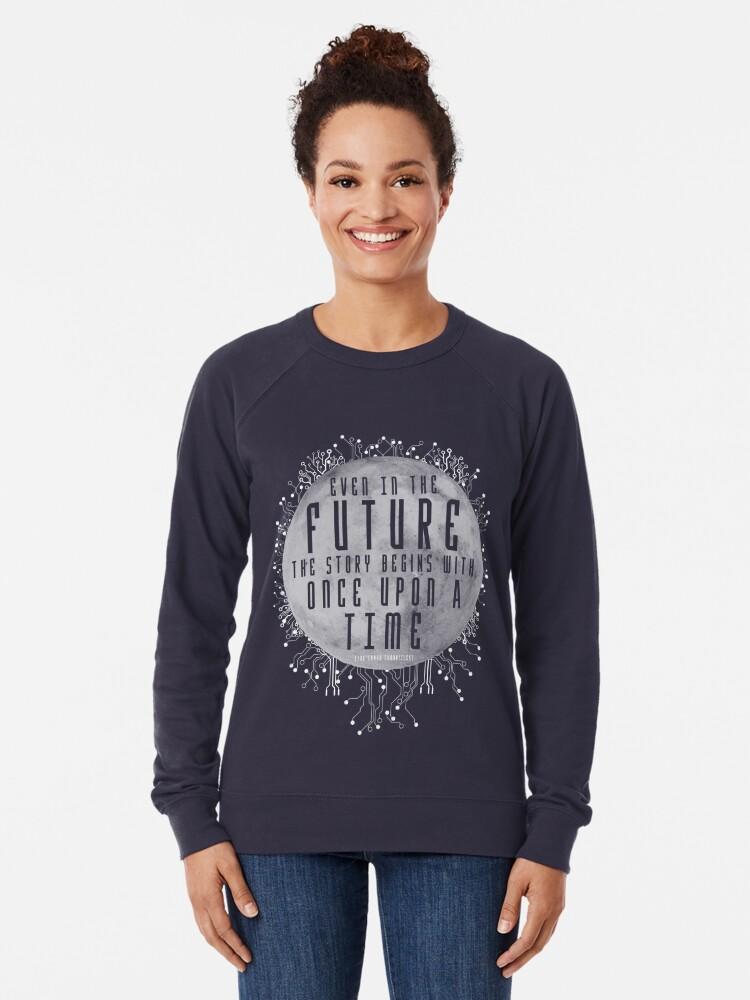 Alternate view of The Lunar Chronicles - Cinder Lightweight Sweatshirt