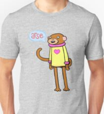 Esel-Affe Slim Fit T-Shirt