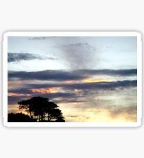 Sunset Skies Sticker