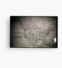 North Adventure  Canvas Print