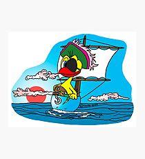 """Rick the chick """"BUCCANEER"""" Photographic Print"""