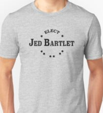 Elect Jed Bartlet Collegiate Unisex T-Shirt