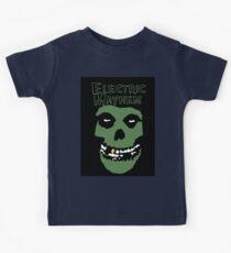 Electric Mayhem Parody Logo Kids Tee