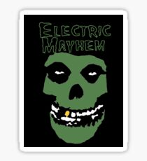 Electric Mayhem Parody Logo Sticker