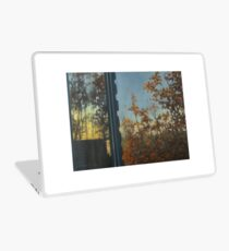 Autumn window view Laptop Skin
