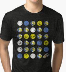 Quaffle, Bludger, and Snitch Claw Tri-blend T-Shirt