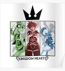 Kingdom Hearts: Rule of Three Poster