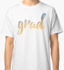 Grad | yellow brush type Classic T-Shirt