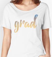Grad | yellow brush type Women's Relaxed Fit T-Shirt