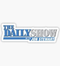 The Daily Show with Jon Stewart Sticker