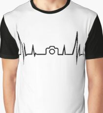 Photography Heartbeat Graphic T-Shirt
