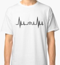 Photography Heartbeat Classic T-Shirt