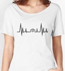 Photography Heartbeat Women's Relaxed Fit T-Shirt