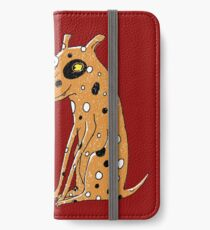 Opposites Attract Cat and Dog iPhone Wallet/Case/Skin