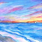Flagler Beach Sunrise 2 by Roz Abellera
