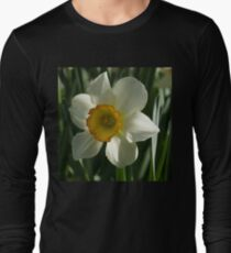 Poet's Daffodil Square T-Shirt