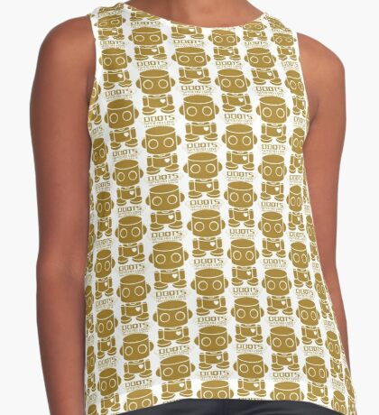 O'BOT: Love is Golden 2.0 Contrast Tank