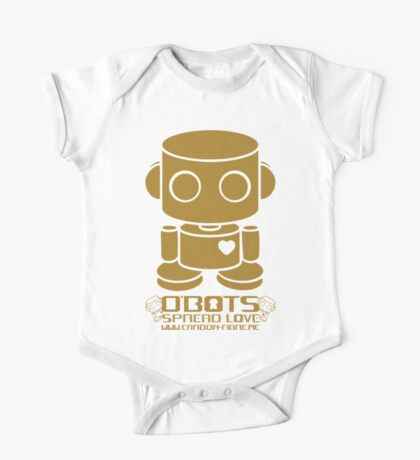 O'BOT: Love is Golden 2.0 Kids Clothes