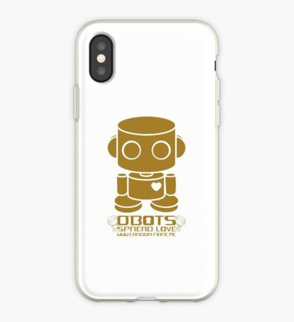 O'BOT: Love is Golden 2.0 iPhone Case