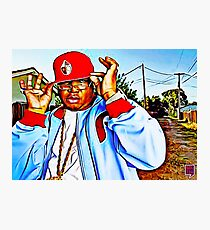 """SYNONYMOUS W/ BAY AREA RAP"" Photographic Print"