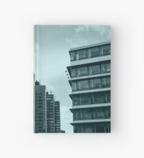 Office Buildings Hardcover Journal