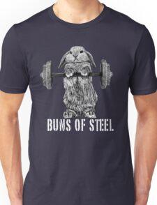 Buns of Steel (Dark) Unisex T-Shirt