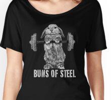 Buns of Steel (Dark) Women's Relaxed Fit T-Shirt