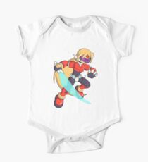The Red Mega Man One Piece - Short Sleeve