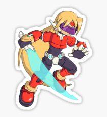 The Red Mega Man Sticker