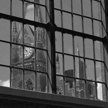 St Pancras Clock Tower by herbertshin