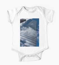 Reflected Sky - Skyscraper Geometry With Clouds - Right Kids Clothes
