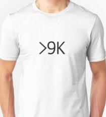 Über 9000! Slim Fit T-Shirt