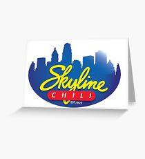 Cincinnati Skyline Chili Greeting Card